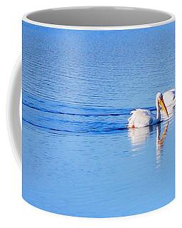 Pelicans On The Bay Coffee Mug