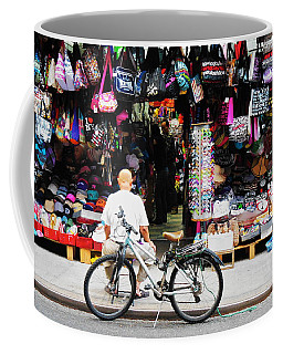 Pell St. Chinatown  Nyc Coffee Mug by Joan Reese