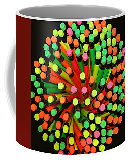Coffee Mug featuring the photograph Pencil Blossom by Rick Locke