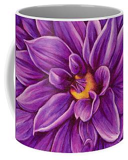 Pencil Dahlia Coffee Mug