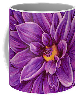 Pencil Dahlia Coffee Mug