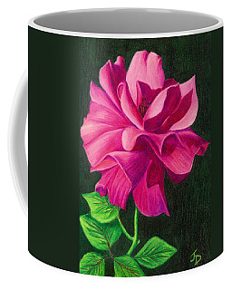 Pencil Rose Coffee Mug