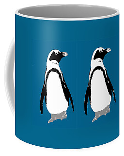 Penguin Twins  Coffee Mug