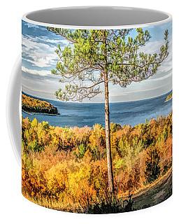 Peninsula State Park Scenic Overlook Panorama Coffee Mug