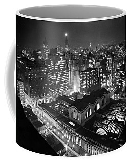Pennsylvania Station At Night Coffee Mug