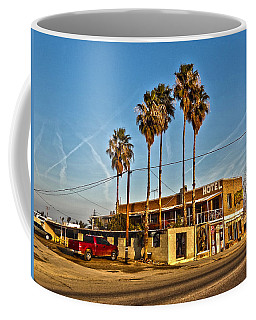 Penny Bar Mckittrick California Coffee Mug by Lanita Williams