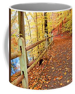 Pennypack Trail Philadelphia Fall Coffee Mug