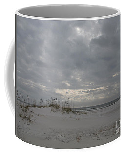 Coffee Mug featuring the photograph Pensacola Beach After Storm  by Christiane Schulze Art And Photography