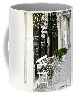Pentunia Bench Coffee Mug