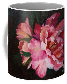 Peonies No 8 The Painting Coffee Mug
