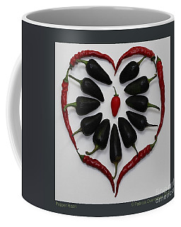 Pepper Heart Coffee Mug