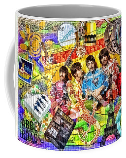 Pepperland Coffee Mug by Mo T