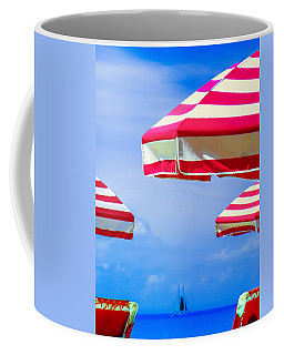 Peppermint Beach Coffee Mug