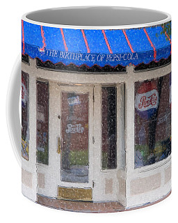 Pepsi Cola Birthplace Watercolor Coffee Mug