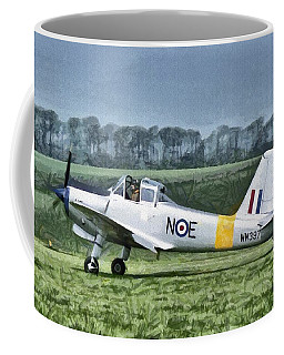 Percival Provost Textured Canvas Coffee Mug