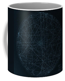 Coffee Mug featuring the drawing Perfect Square by Jason Padgett