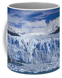 Coffee Mug featuring the photograph Perito Moreno Glacier Argentina by Rudi Prott