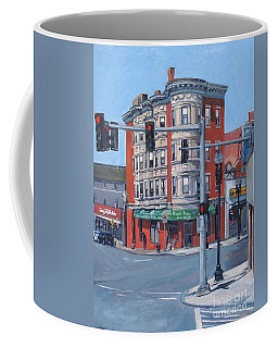 Perkin's Square Coffee Mug