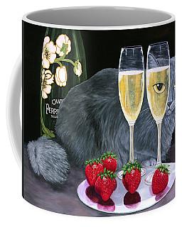 Perrier Jouet Et Le Chat Coffee Mug