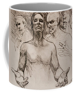 Persecution Sketch Coffee Mug
