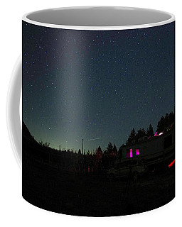 Perseid Meteor-julian Night Lights Coffee Mug