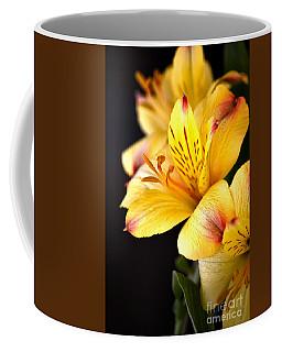 Peruvian Lily Coffee Mug by Deb Halloran