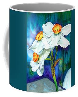 Petal Portrait Coffee Mug by Barbara Jewell