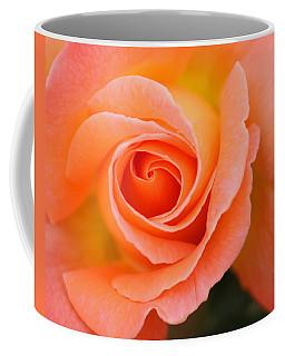 Coffee Mug featuring the photograph Petals Of Peach by Rowana Ray