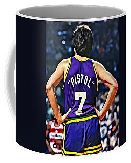 Pete Maravich Coffee Mug