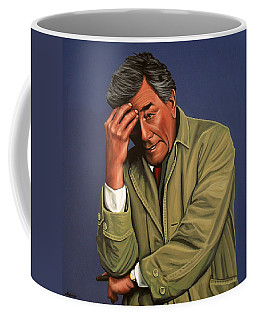 Peter Falk As Columbo Coffee Mug