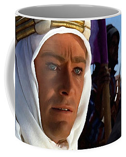 Peter Otoole And Omar Sharif In Lawrence Of Arabia Coffee Mug