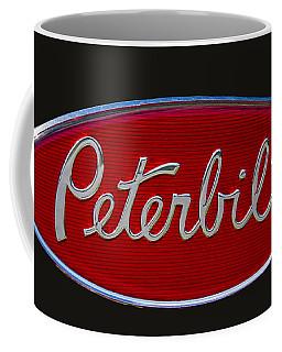 Peterbilt Semi Truck Emblem Coffee Mug