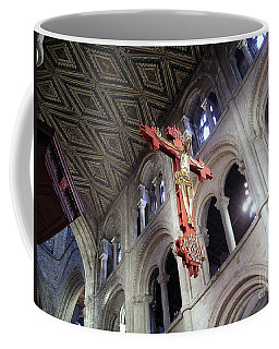Coffee Mug featuring the photograph Peterborough Cathedral England by Jolanta Anna Karolska