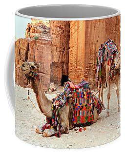 Petra Camels Coffee Mug