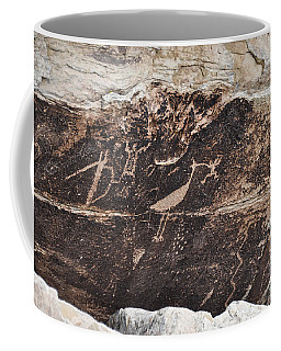 Petroglyph Bird Coffee Mug