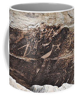 Petroglyph Bird Coffee Mug