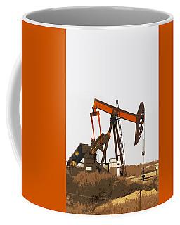Petroleum Pumping Unit Coffee Mug