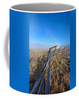 Coffee Mug featuring the photograph Pettit Fog by David Andersen