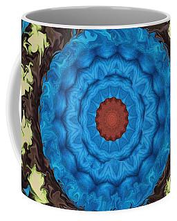 Coffee Mug featuring the digital art Petunias Inside Out by Aliceann Carlton