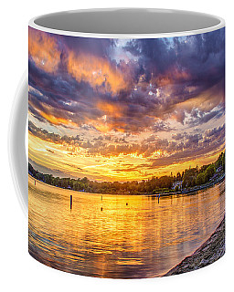 Pewaukee Orange Fury Coffee Mug