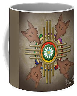Peyote Coyote Coffee Mug
