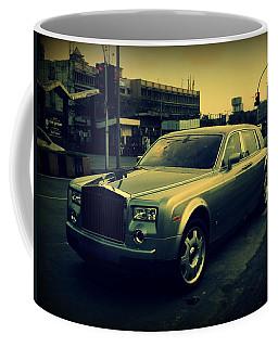 Coffee Mug featuring the photograph Rolls Royce Phantom by Salman Ravish