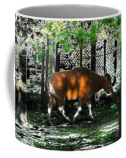 Phenomena Of Banteng Walk Coffee Mug