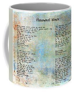 Phenomenal Woman - Blue Rustic Coffee Mug