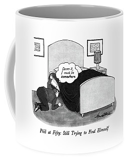 Phil At Fifty: Still Trying To Find Himself Coffee Mug