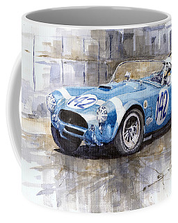 Phil Hill Ac Cobra-ford Targa Florio 1964 Coffee Mug