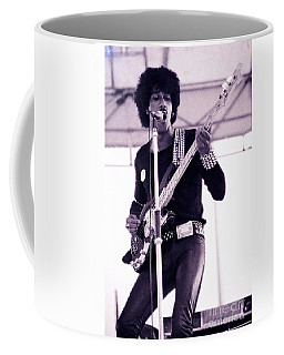Phil Lynott Of Thin Lizzy Black Rose Star Effect Day On The Green 4th Of July 1979 - Unreleased No 3 Coffee Mug