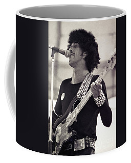 Phil Lynott Of Thin Lizzy Black Rose Tour At Day On The Green 4th Of July 1979 - Unreleased  Coffee Mug