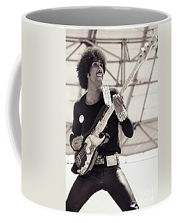 Phil Lynott Of Thin Lizzy Black Rose Tour At Day On The Green 4th Of July 1979 - Unreleased No 2 Coffee Mug