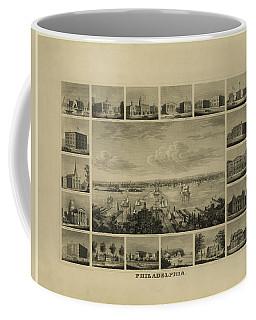 Philadelphia By J Serz Coffee Mug